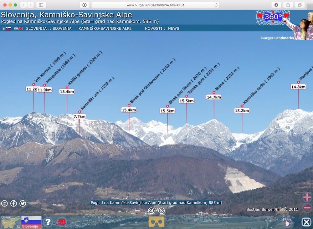 Kamnik-Savinja Mountain Range