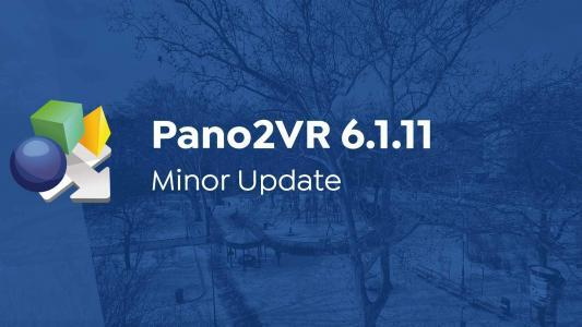 Pano2VR 6.1.11 Released