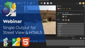 Build a Single Project for Street View and HTML5 Outputs
