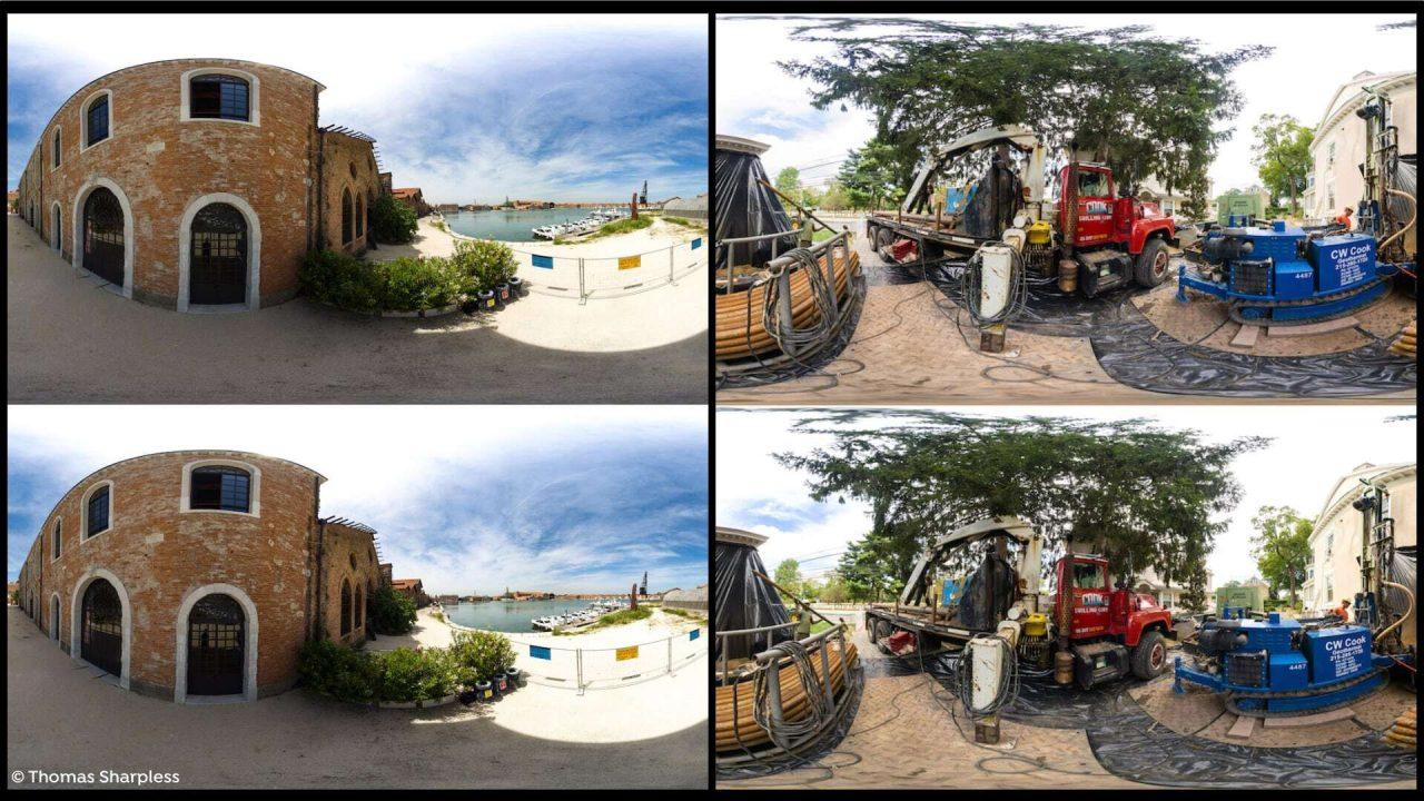 stereo 360 panoramas